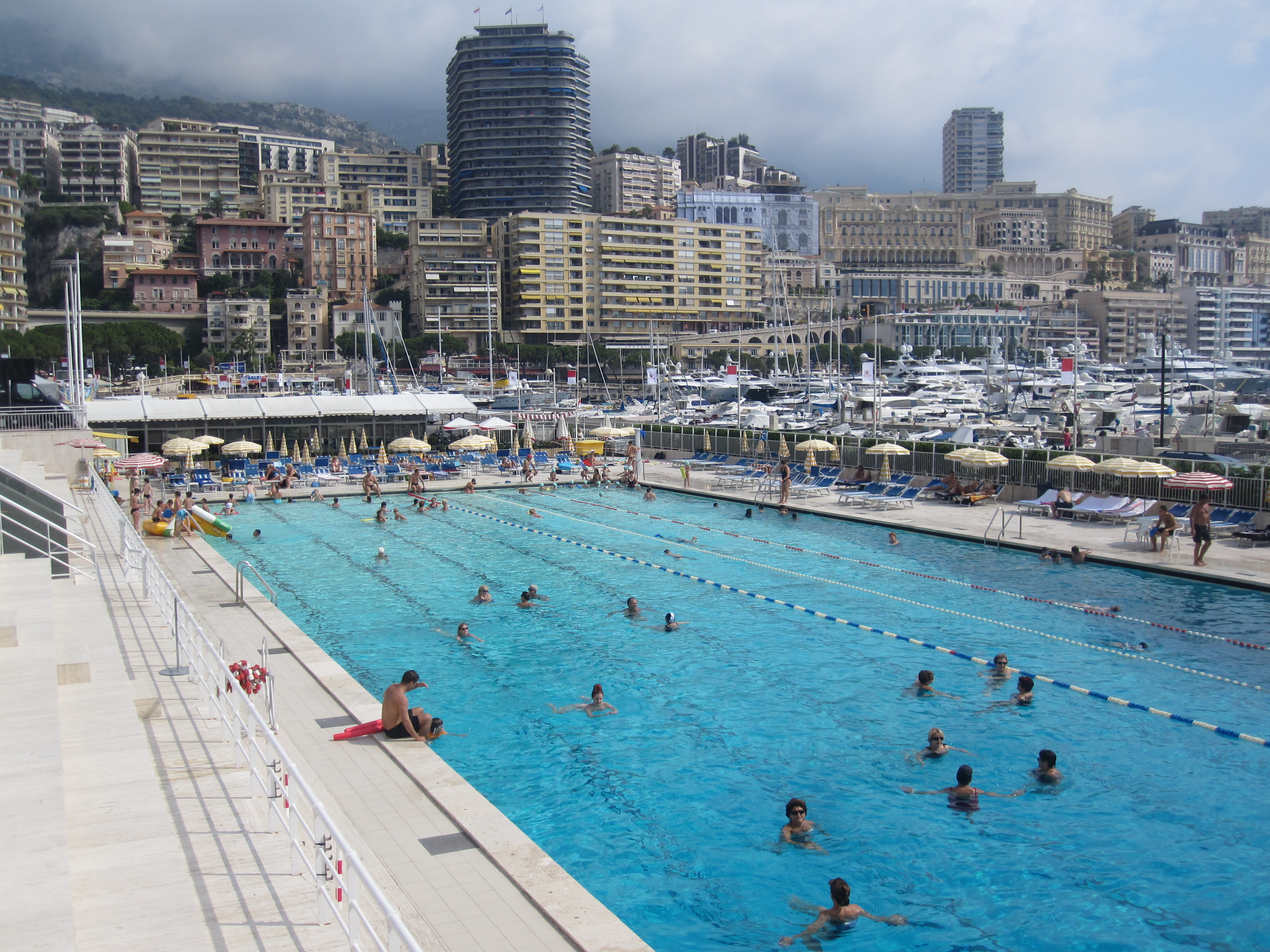 Monte carlo cruisemiss cruise blog for Outdoor swimming in paris