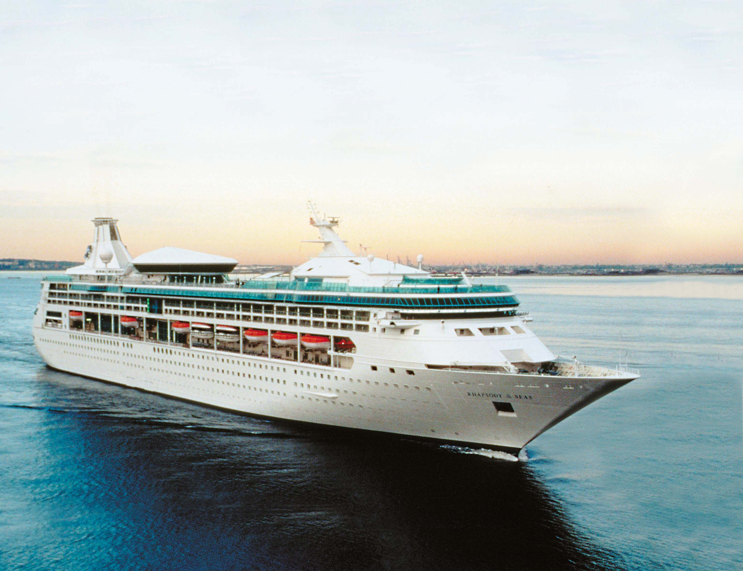 Rhapsody Of The Seas Emerges As A New Ship Cruisemiss
