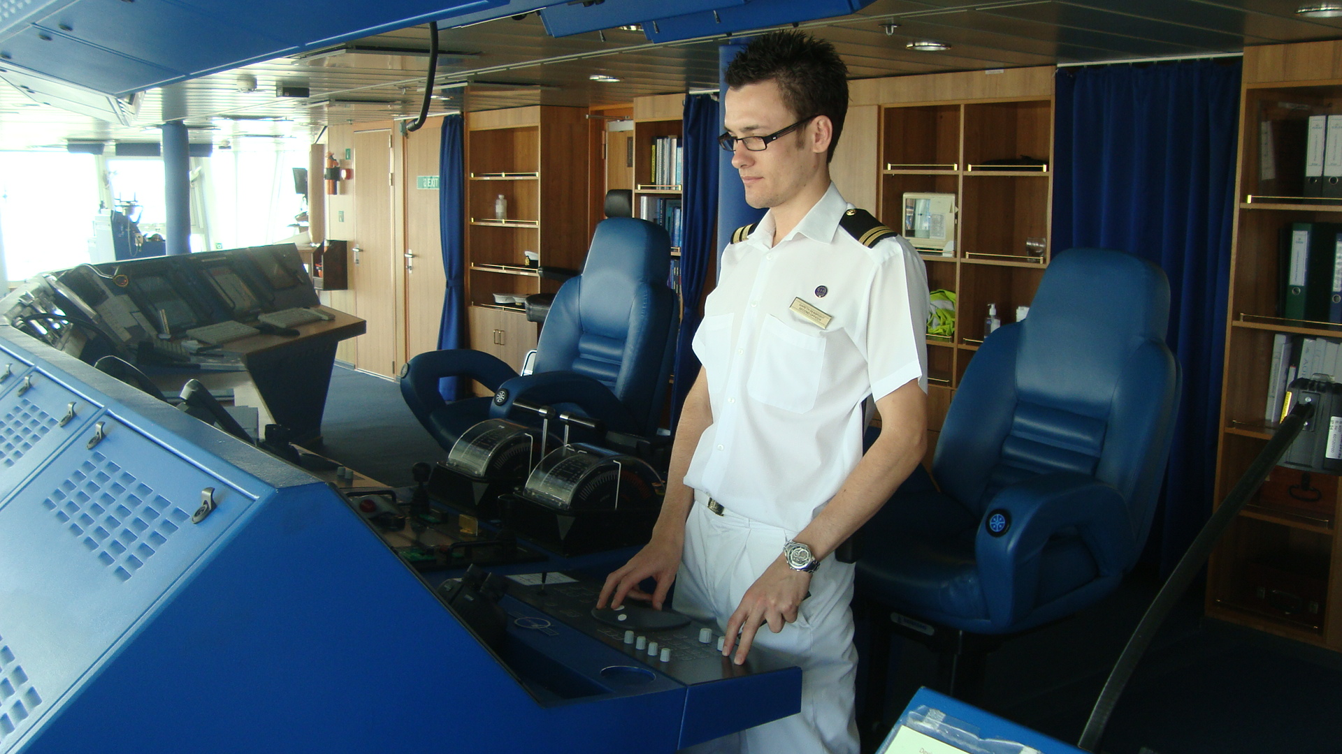 Interview With PampO Cruises Aurora Second Officer
