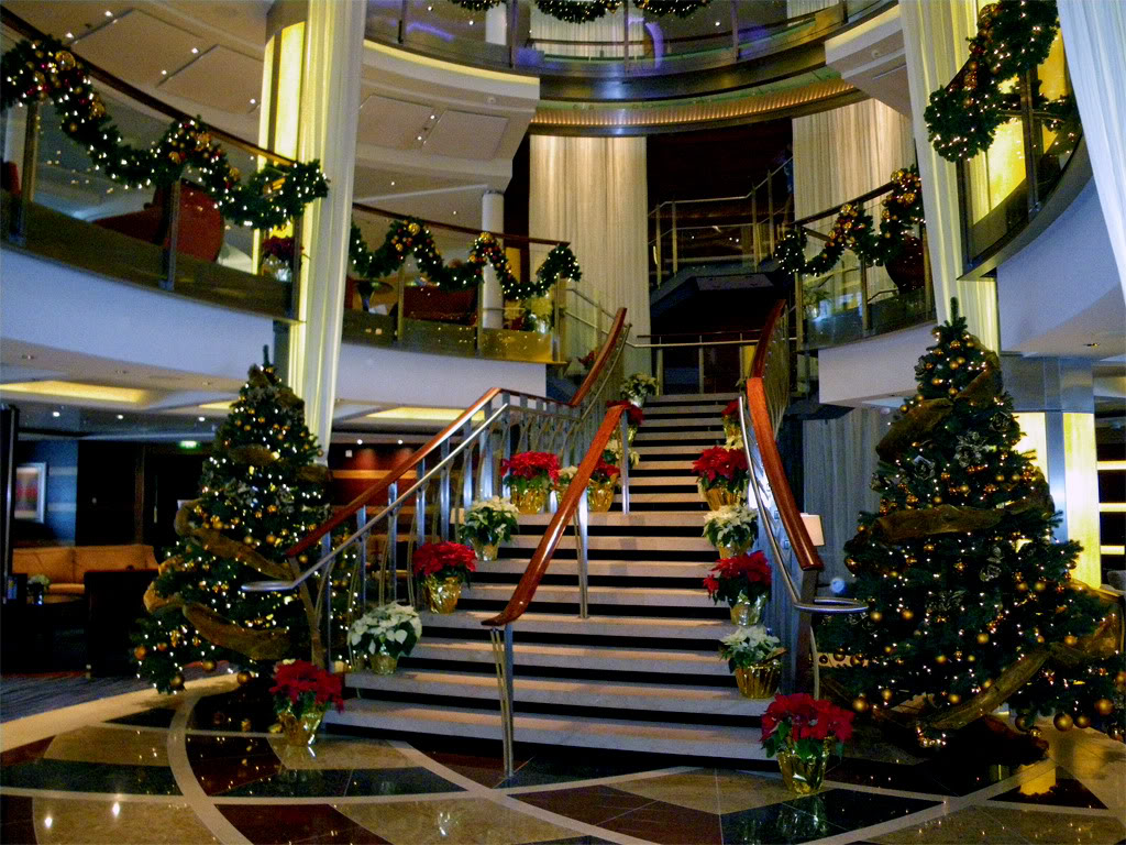 Christmas On A Cruise Ship  CruiseMiss Cruise Blog