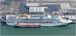 Oceana-Southampton-Docks