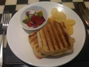 Ham-Cheese-Panini