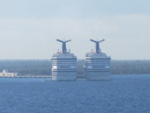 Carnival Triumph and Carnival Glory