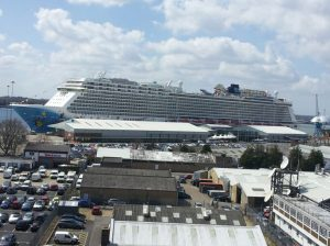 Image courtesy of my ship spy @TheSparksman and it was taken from the roof of Carnival House