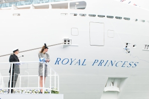 Princess-Cruises-Royal-Princess-Naming -Ceromony