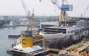 Costa Diadema Under Construction