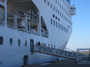 MSC-Opera-Docked