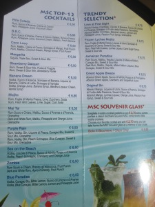 MSC-Cruises-Bar-Menu