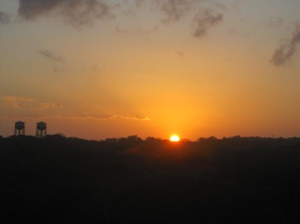 Sunrise-Panama-Canal