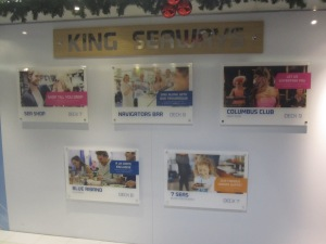 King Seaways Deck Information