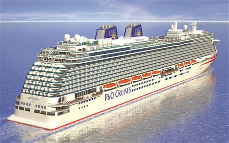 PampO Cruises To Add Union Jacks And Blue Funnels The