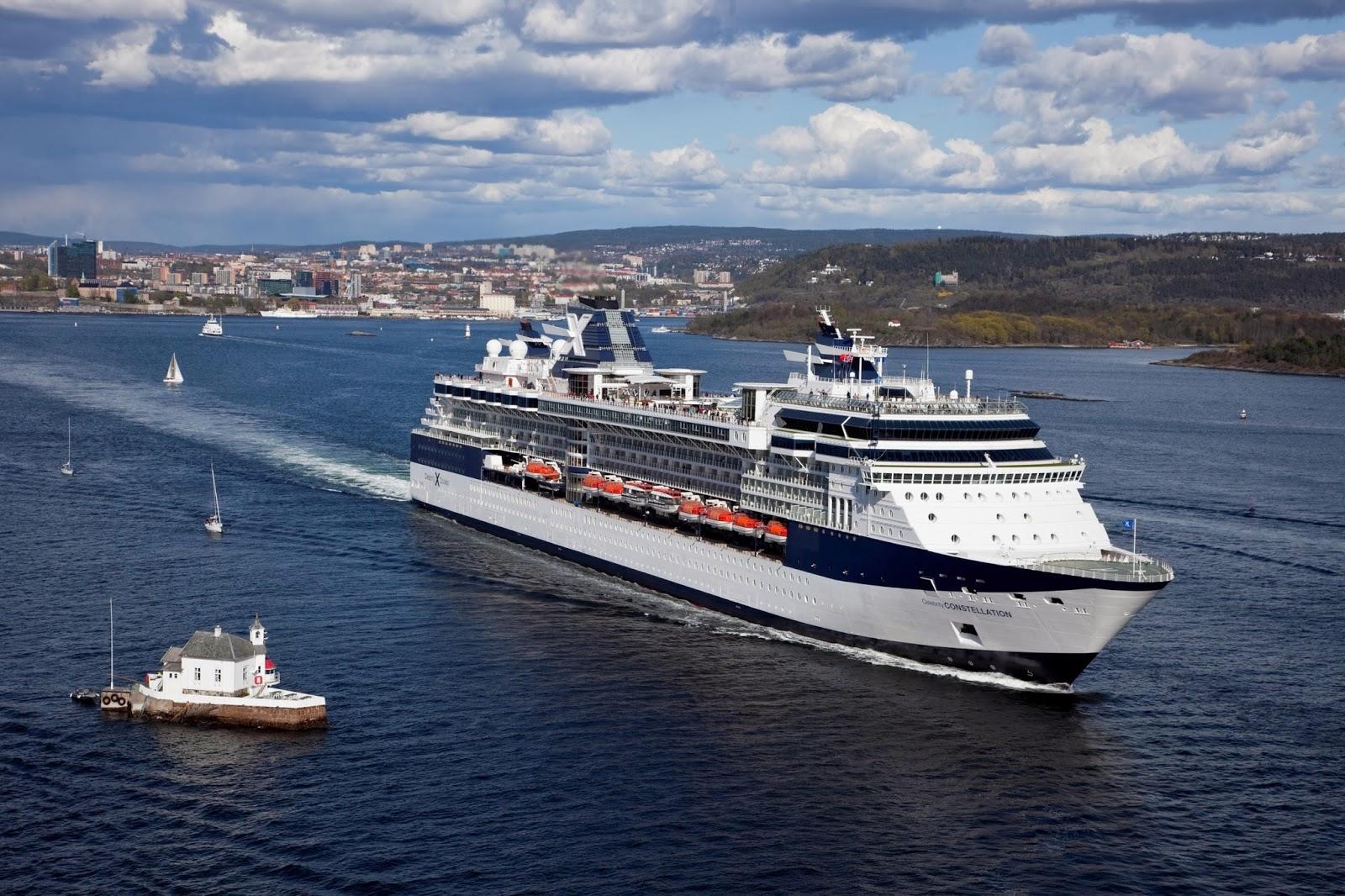 Celebrity Constellation Crew Member Goes Overboard