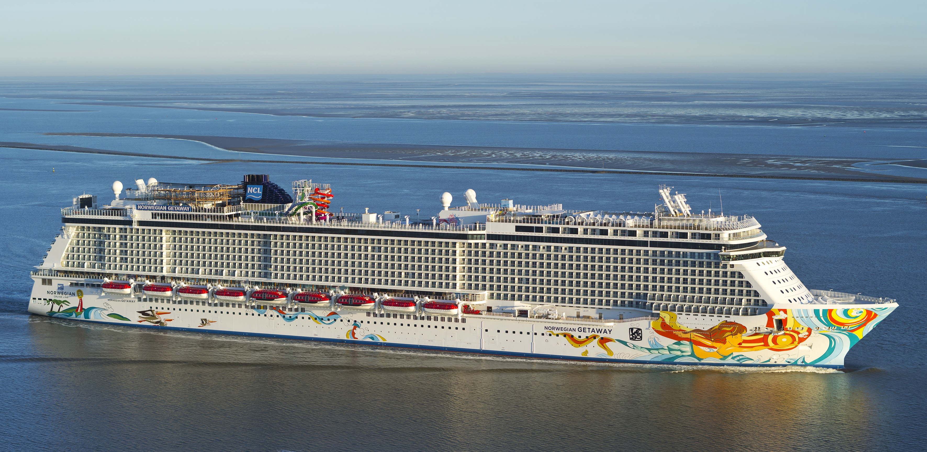 Ncl take delivery of norwegian getaway cruisemiss cruise for Ncl getaway