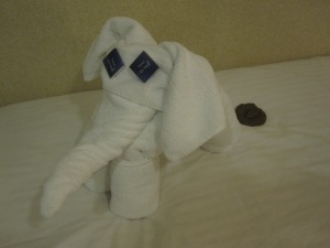 Cruise Ship Towel Animal