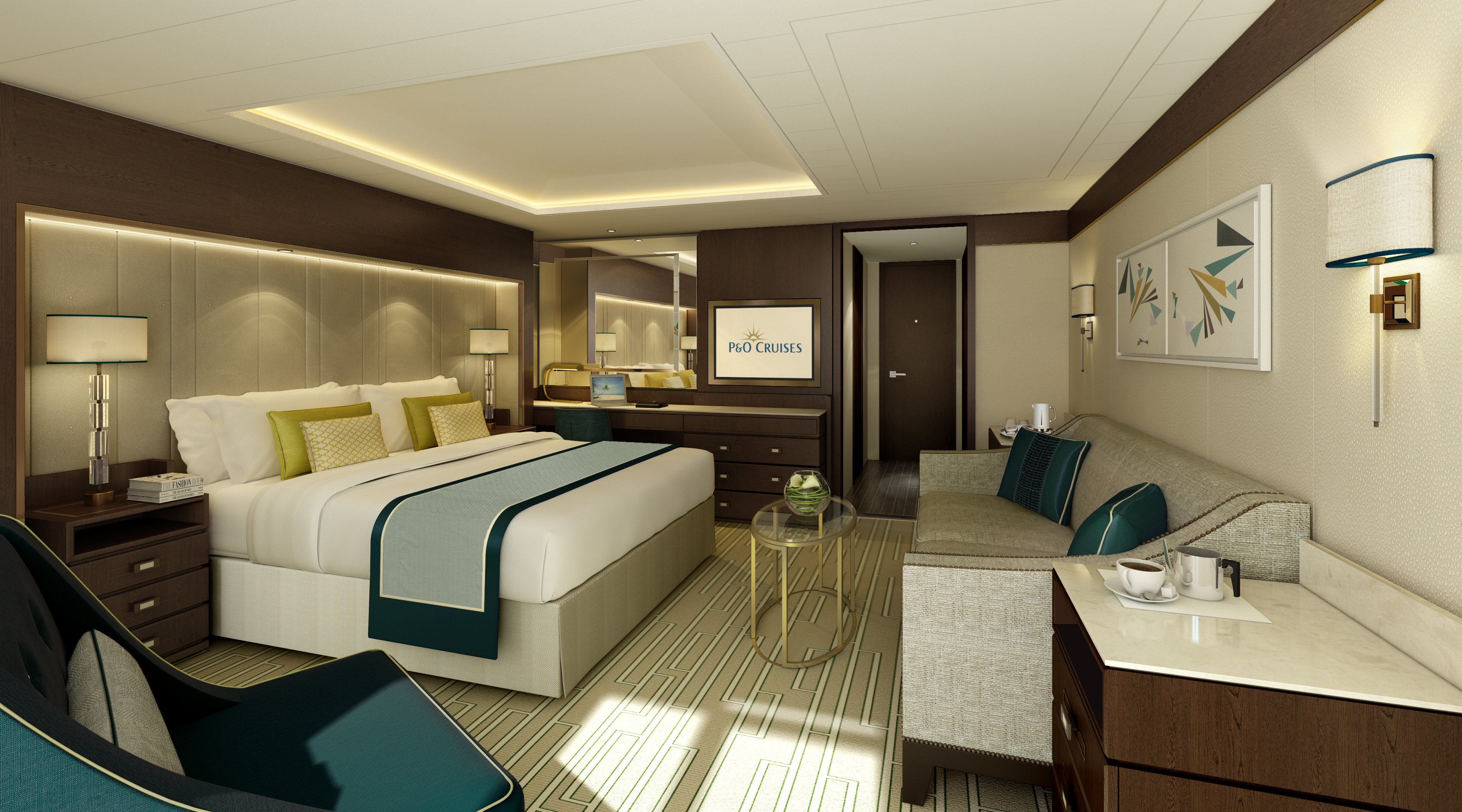 Oriental Bedroom Take A Look Inside P Amp O Cruises Britannia New Images