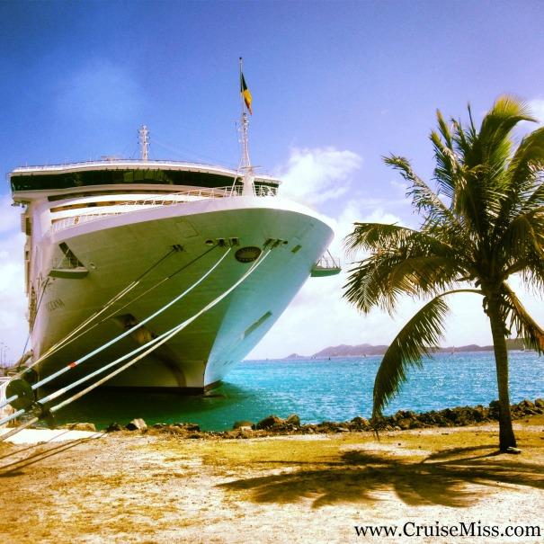 P&0 Cruises Oceana Tortola