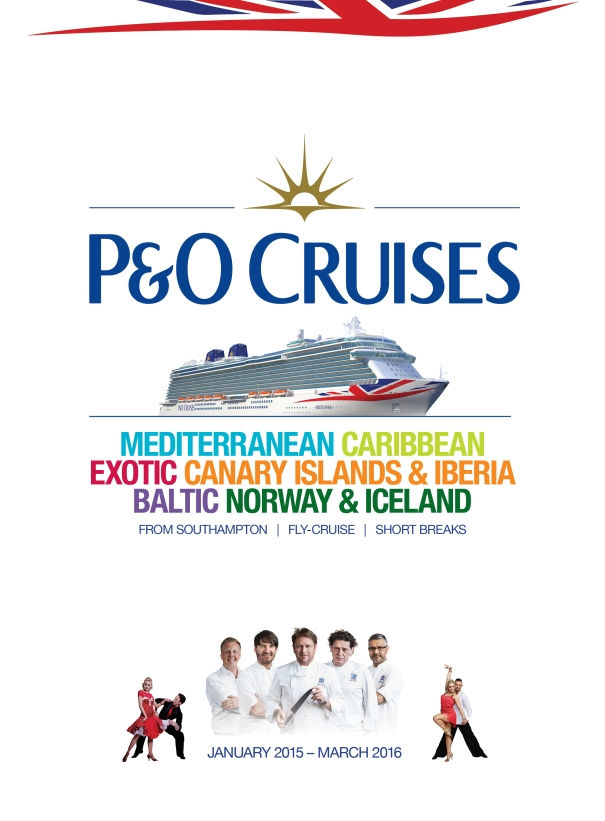 2015 P&O Cruises Brochure Cover