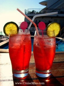 P&O Cruises Drinks on us