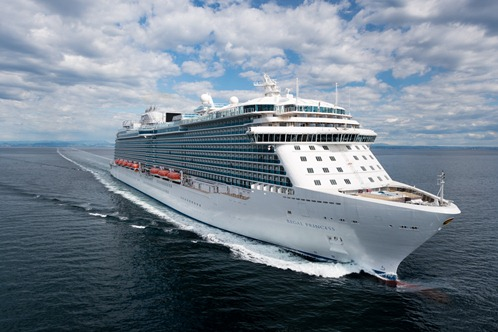 Regal Princess Sea Trials