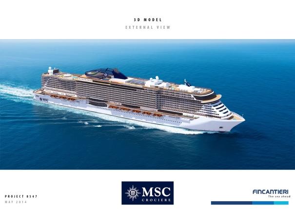 MSC Cruises New Ships