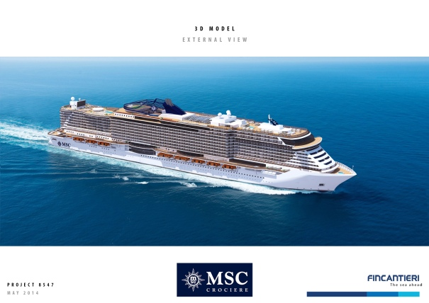 MSC Cruises New Ships