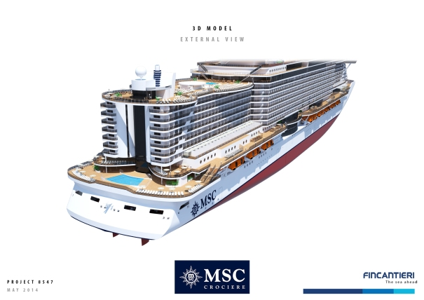 MSC Cruises New Ship