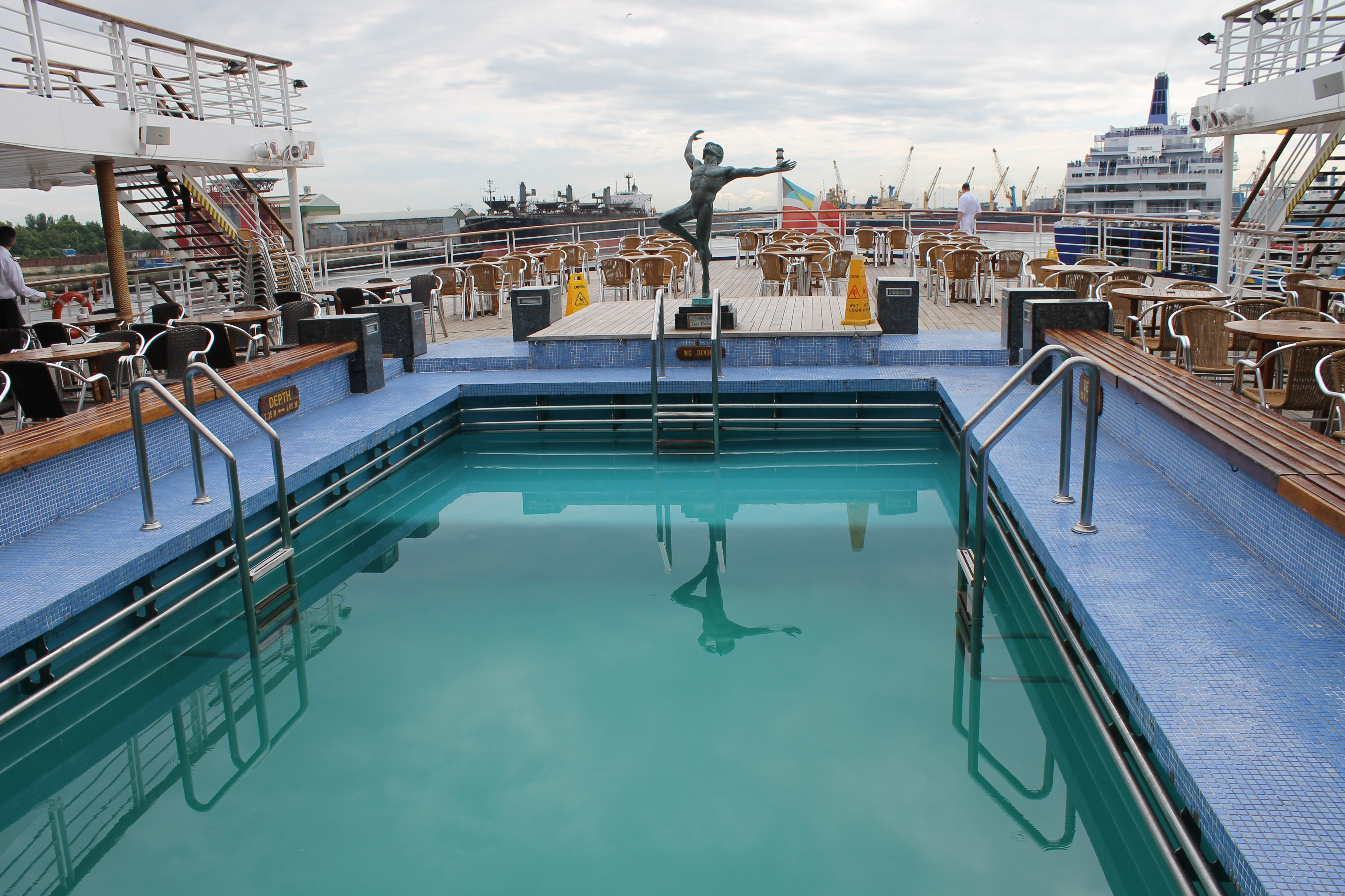 A day aboard marco polo cruisemiss cruise blog for High end cruise lines