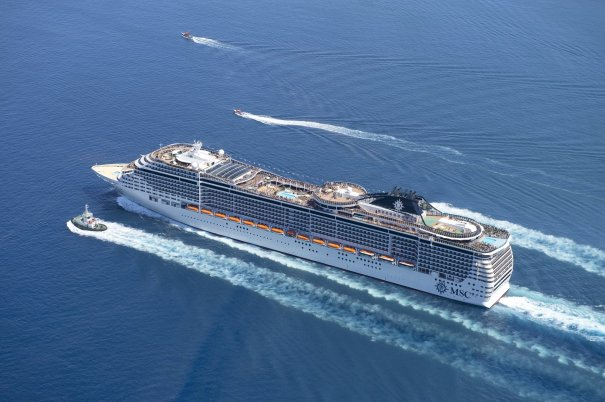 Man Overboard From MSC Divina