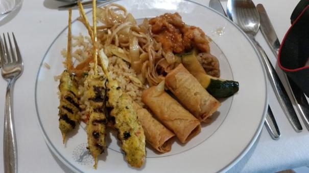 Asian buffet palms cafe Braemar
