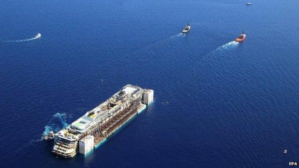 Costa Concordia Removal