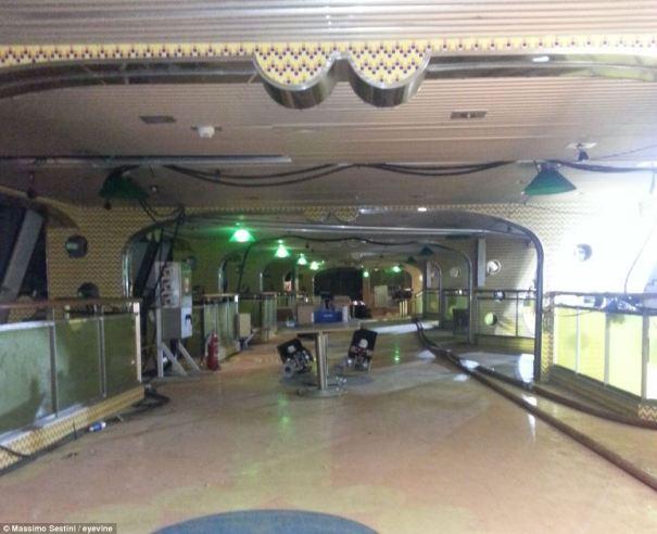 Costa Concordia Inside