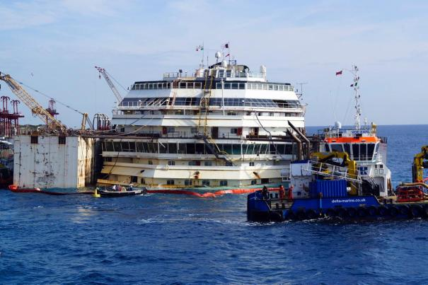 Costa Concordia Refloat 2014