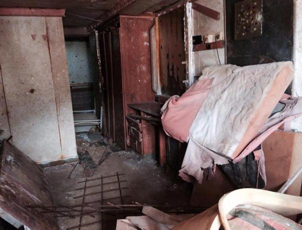 Costa Concordia Refloat Cabin