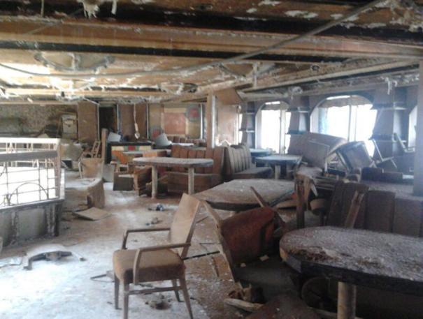 Costa Concordia Refloat Interior