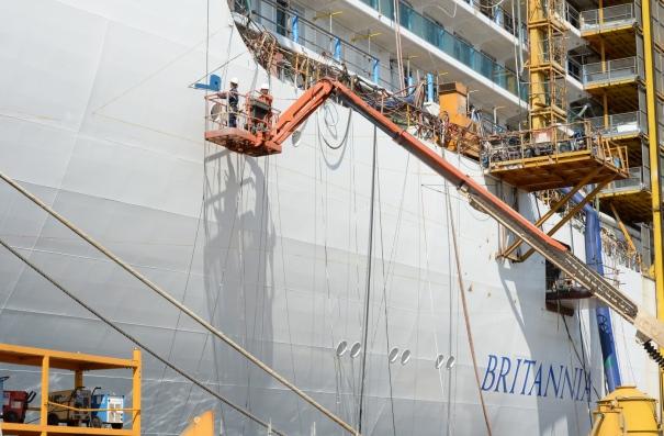 P&O Cruises Britannia Painting