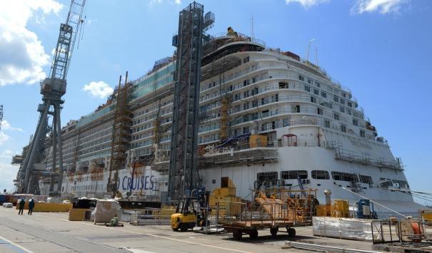 P&O Cruises Britannia Aft