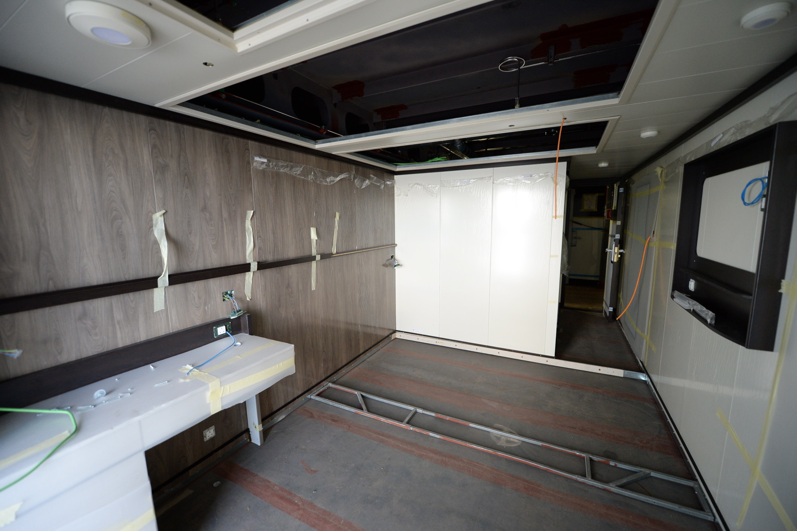 P o cruises britannia construction so far cruisemiss for P o britannia dining rooms