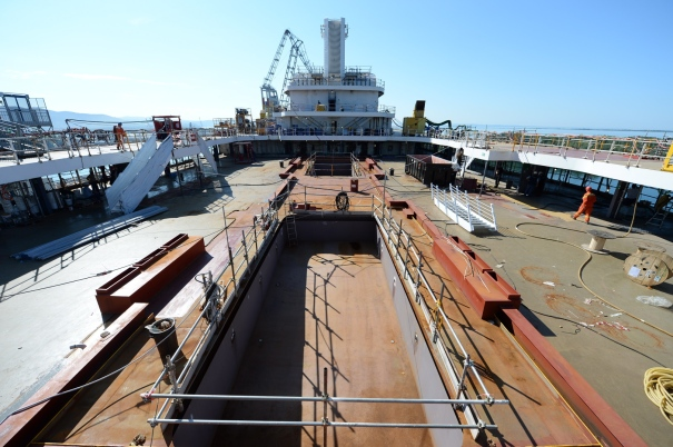 P&O Cruises Britannia Lido Deck