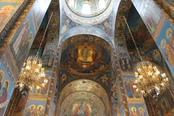Spilled Blood Church St Petersburg