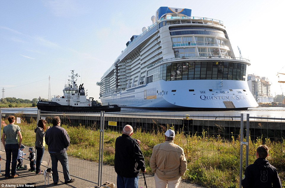 Quantum Of The Seas Float-Out In Pictures | CruiseMiss ...Quantum Of The Seas Float Out