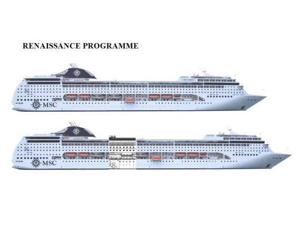 MSC Cruises Renaissance Project