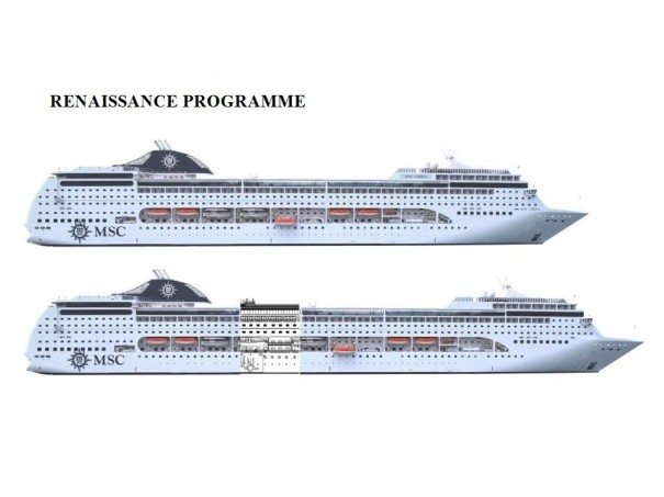 MSC Cruises Renaissance Project