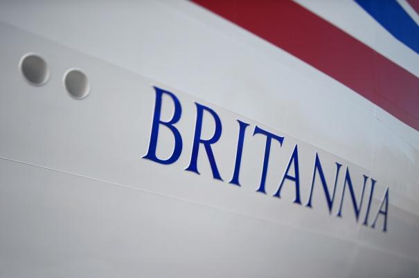 P&O Cruises Britannia Livery