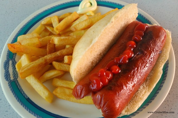 Hot Dog Princess Cruises