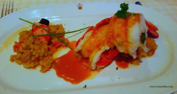 Lobster Sabatini's Princess Cruises