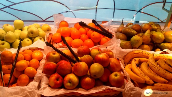 Fresh Fruit Princess Cruises