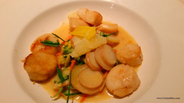 Diver Scallops Citrus Princess Cruises