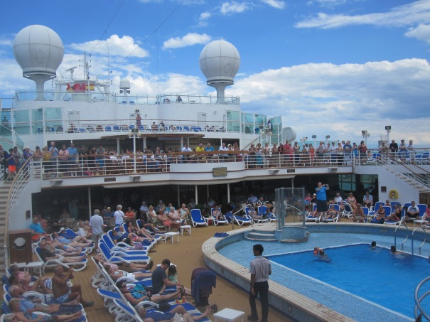 Cruise Ship Deck Party