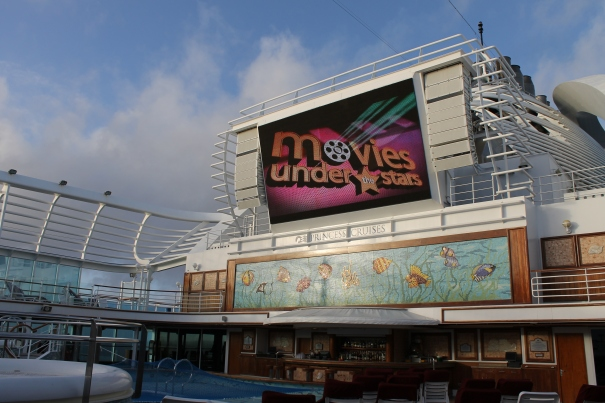 movies under the stars emerald princess