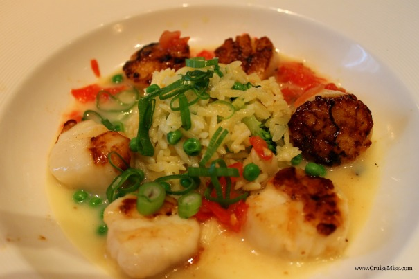 Diver Scallops Princess Cruises
